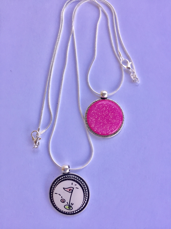 Plain Ball Marker Necklace