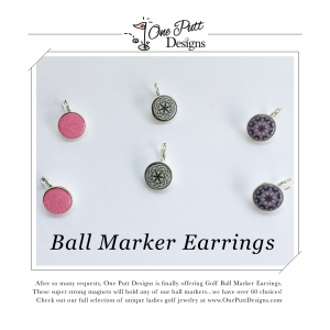 Ball Marker Earrings